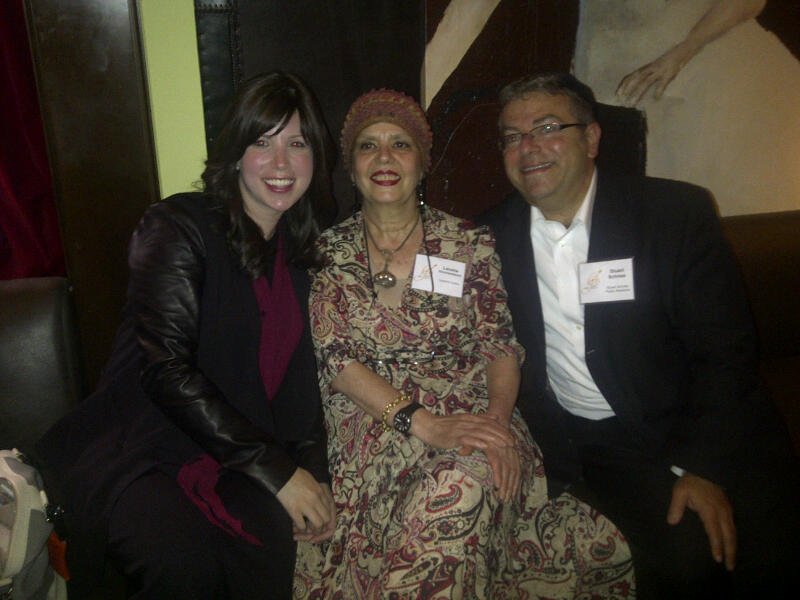 meeting up with Jamie Geller & Levana Kirschenbaum. Two authors I have enjoyed working with